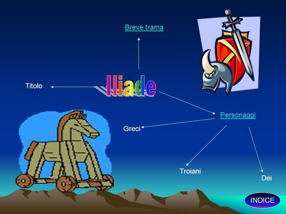 INDICE La guerra è ormai finita da dieci anni, ma Ulisse è trattenuto sull isola di Ogigia dalla ninfa Calipso.