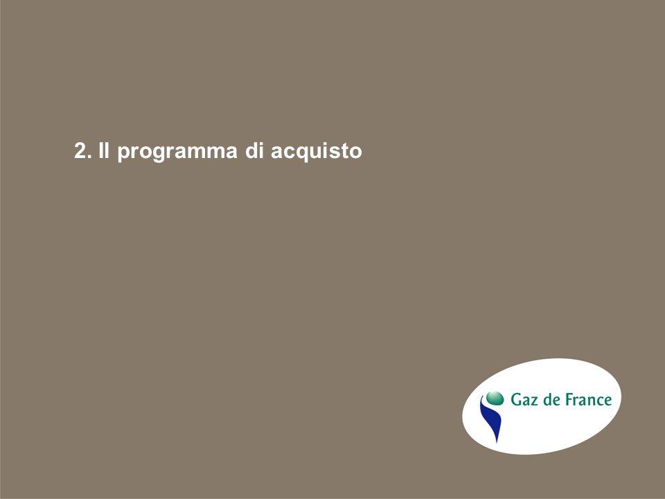 2. Il programma di acquisto