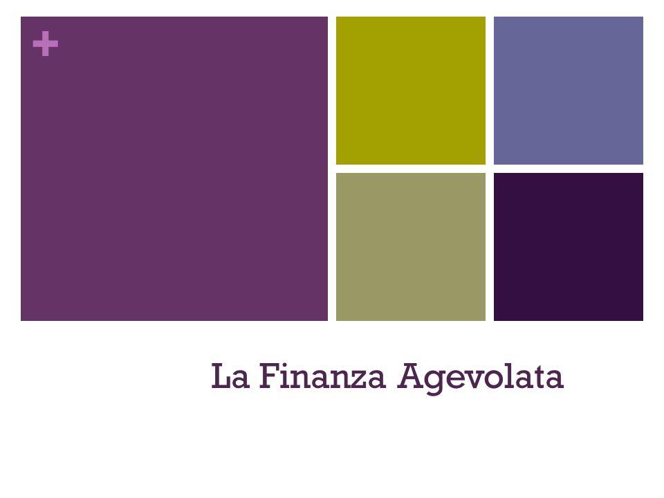 + La Finanza Agevolata