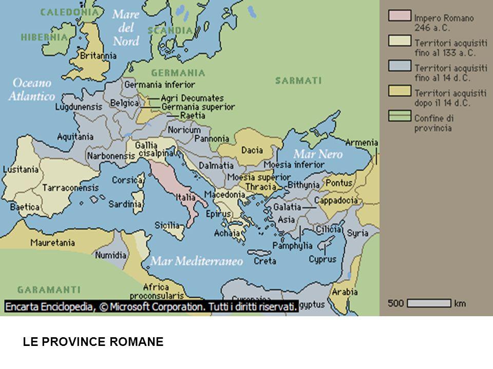 LE PROVINCE ROMANE