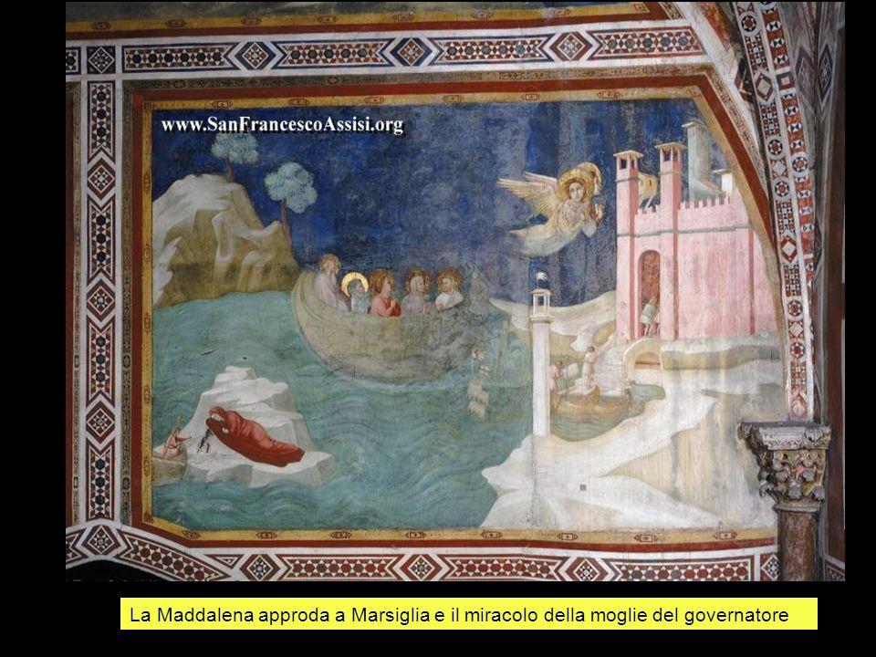La Maddalena approda a Marsiglia e il miracolo della moglie del governatore