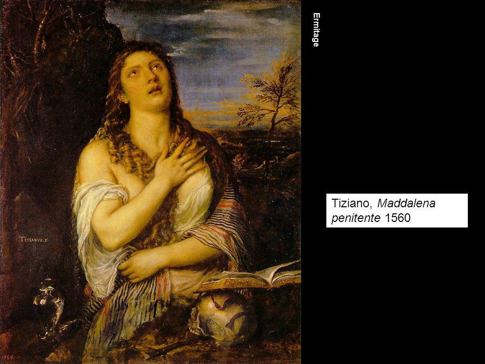 Tiziano, Maddalena penitente 1560 Ermitage