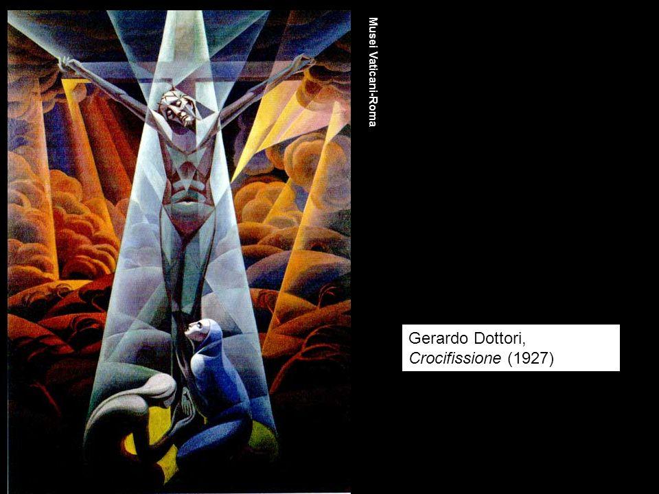 Gerardo Dottori, Crocifissione (1927) Musei Vaticani-Roma