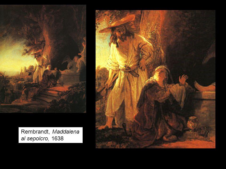 Rembrandt, Maddalena al sepolcro, 1638