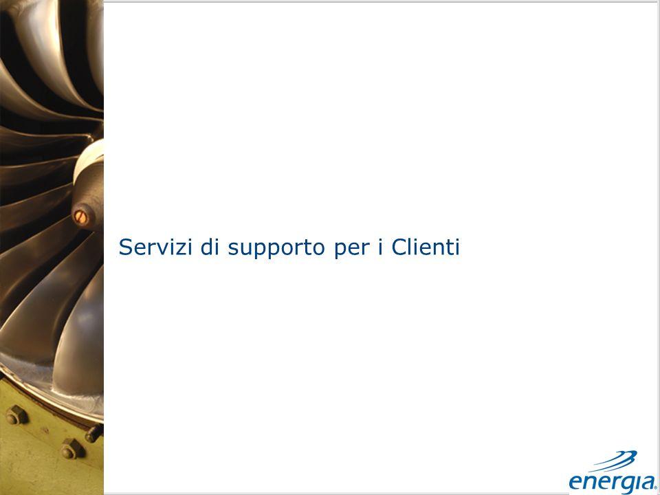 Servizi di supporto per i Clienti