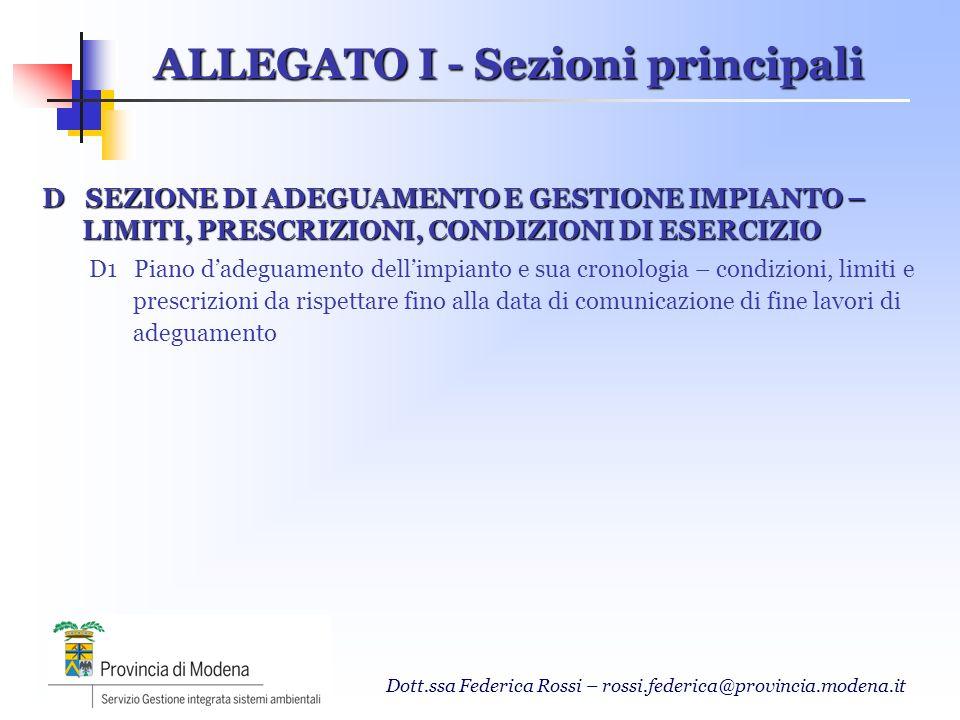 Dott.ssa Federica Rossi – rossi.federica@provincia.modena.it Monitoraggio e Controllo degli indicatori di performance