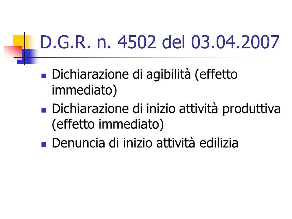 D.G.R. n.