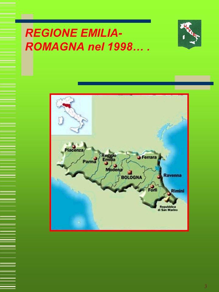 2 Esperienze pratiche della Regione Emilia- Romagna attraverso lindividuazione dei referenti Gruppi di lavoro specialistici e del rapporto con lUniver