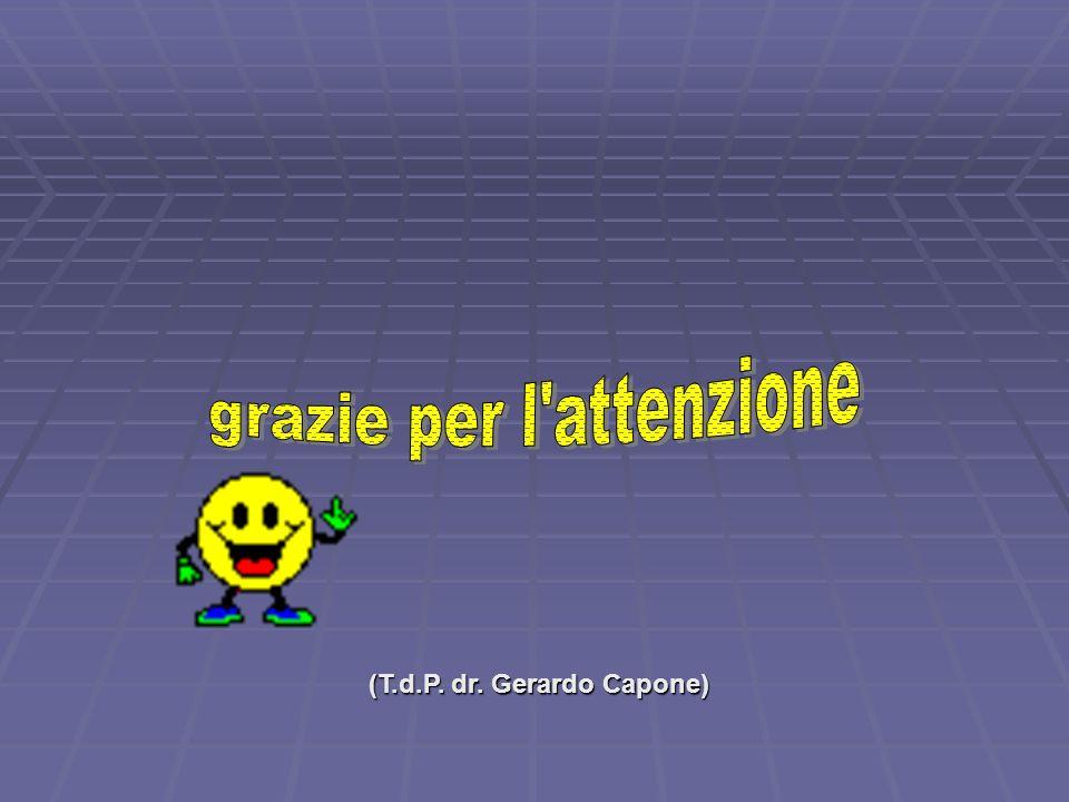 (T.d.P. dr. Gerardo Capone)