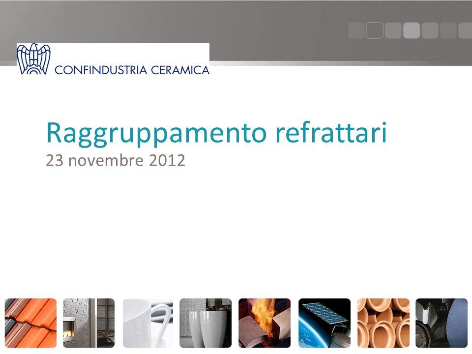 Raggruppamento refrattari 23 novembre 2012