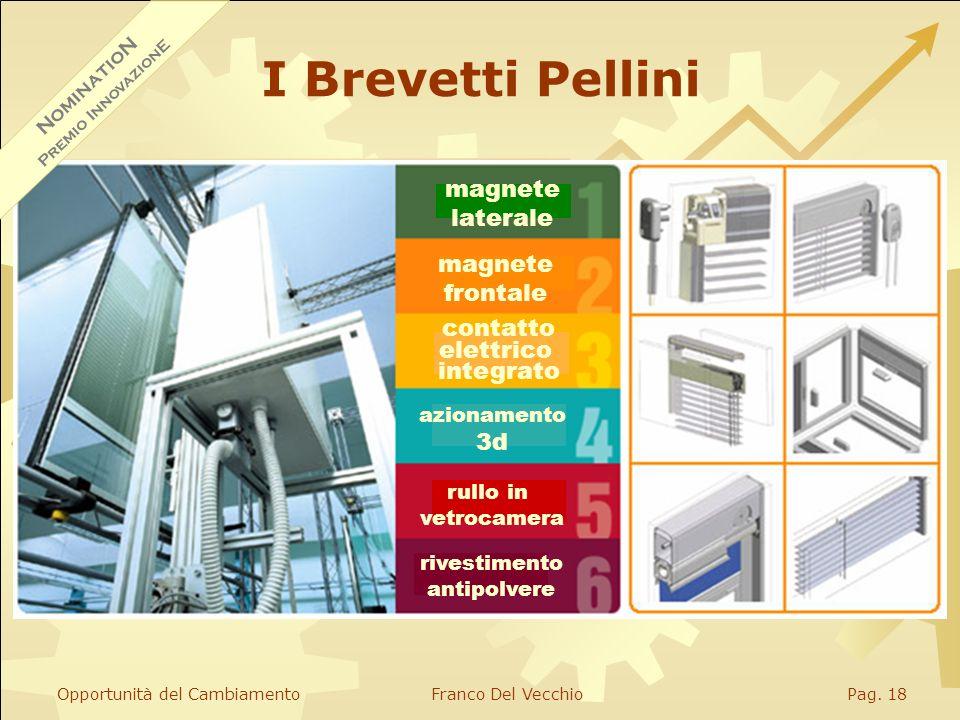 Opportunità del CambiamentoFranco Del VecchioPag. 17 Pellini S.p.A.