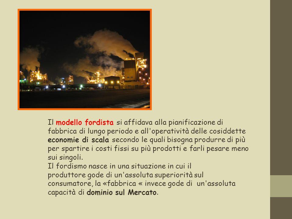 Il mercato, così come affermava anche leconomista Jean Baptiste Say ( Legge degli sbocchi), è in grado di assorbire qualsiasi prodotto che la fabbrica genera.