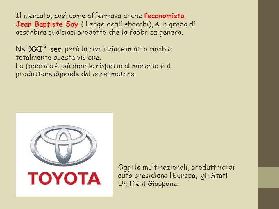 Secondo l inventore della Toyota, l ingegnere giapponese Taiichi Ohno, bisogna imparare a ridurre i costi senza aumentare il volume dei prodotti.