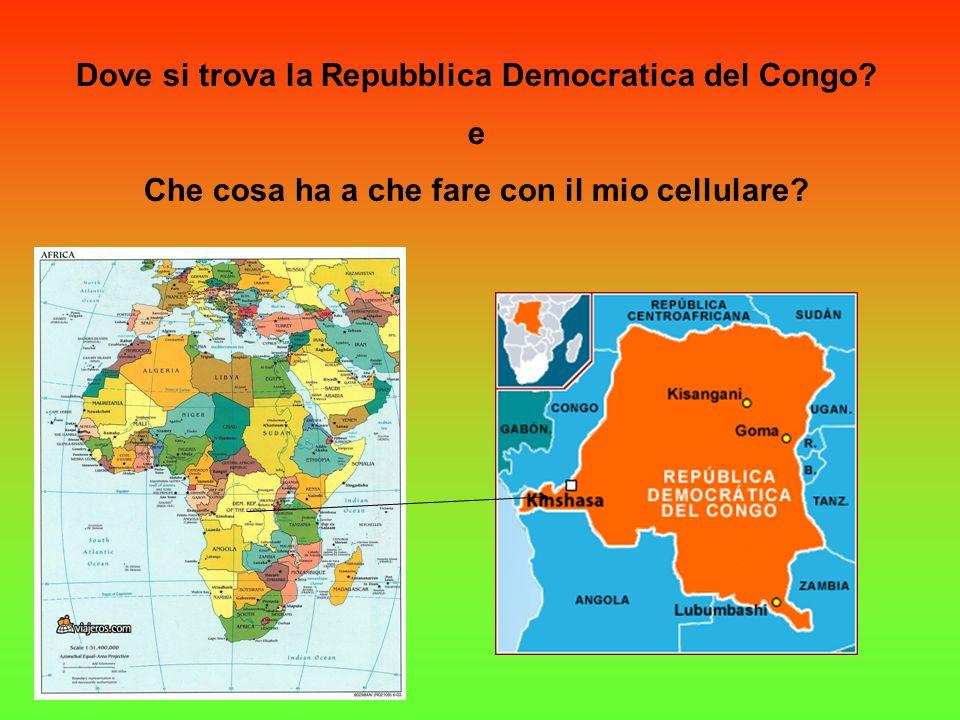 LAfrica, il Congo, laGuerra, ilCOLTÁN e.. IL TUO TELEFONINO