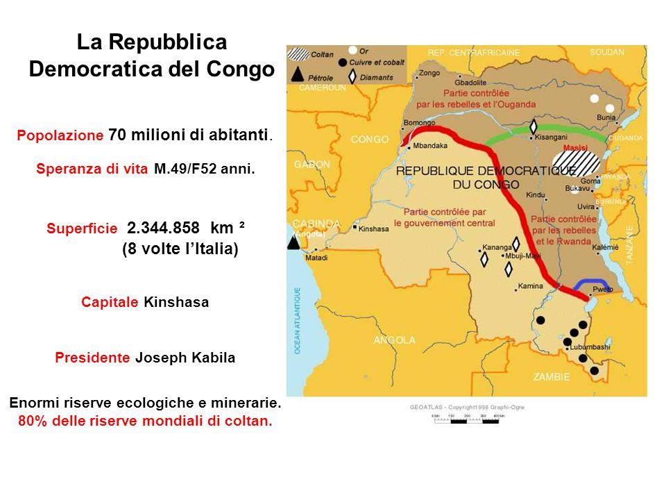 Dove si trova la Repubblica Democratica del Congo? e Che cosa ha a che fare con il mio cellulare?
