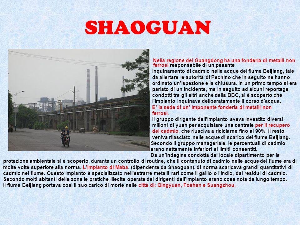 UTILIZZO DELLENERGIA IDROELETTRICA La crescente dipendenza della Cina dal carbone non è ecologicamente sostenibile, quindi si è deciso di imboccare la strada dei grandi impianti idroelettrici.