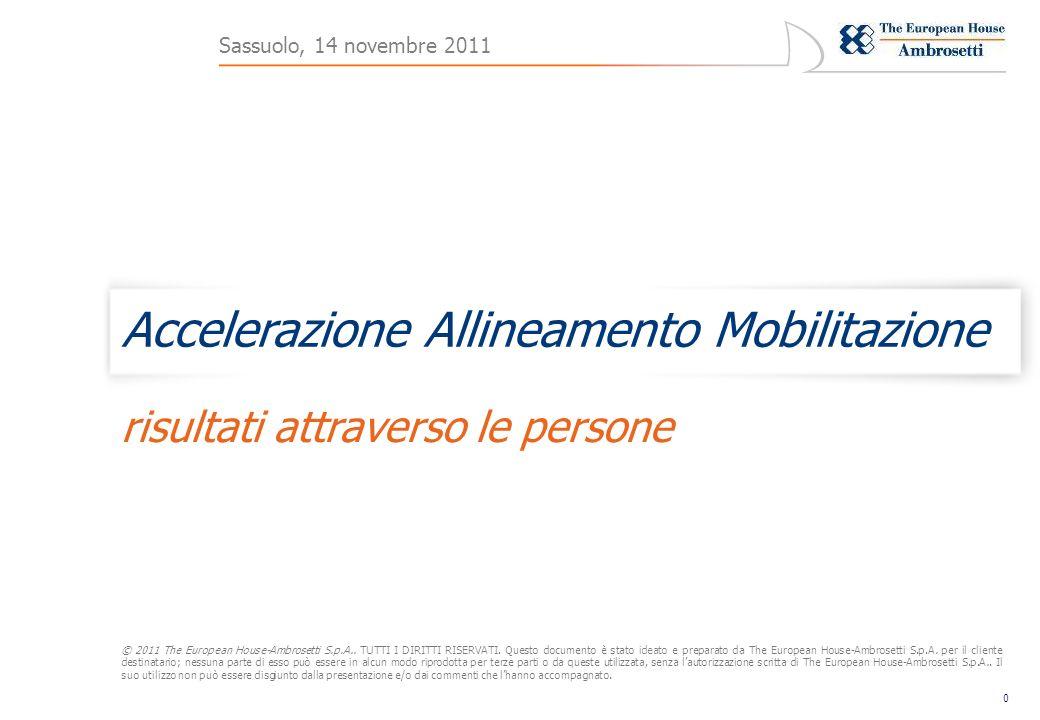 0 © 2011 The European House-Ambrosetti S.p.A..TUTTI I DIRITTI RISERVATI.