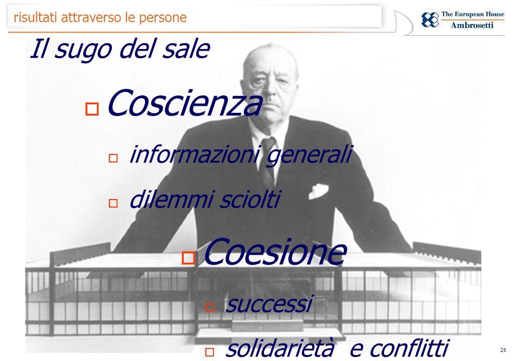 25 risultati attraverso le persone Materia e Consistenza Affetto Operatività Collaborazione Competizione
