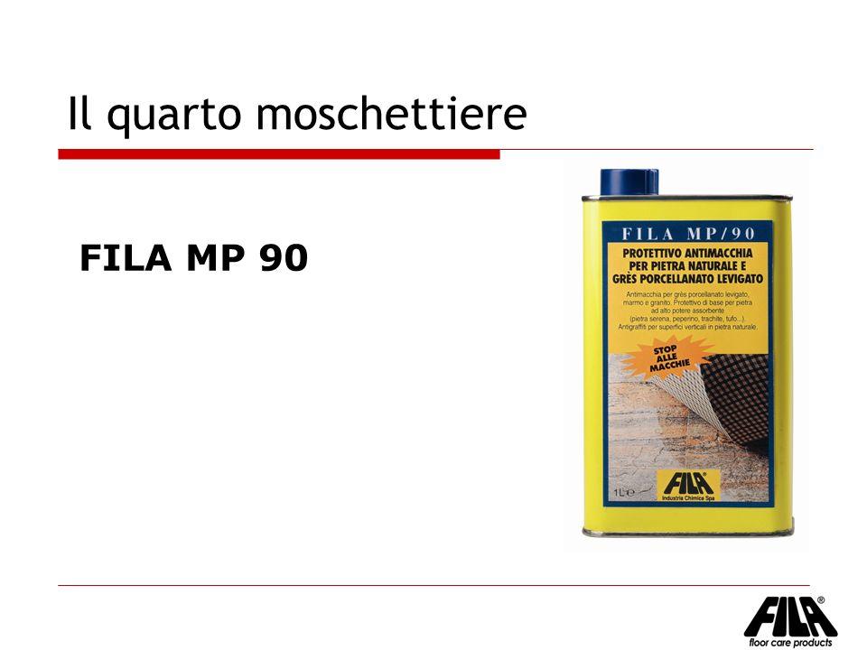 Il quarto moschettiere FILA MP 90