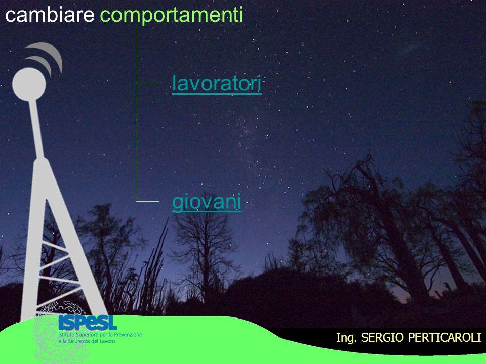 Ing.SERGIO PERTICAROLI moderne tecnologie comparto Pesca F.A.D.