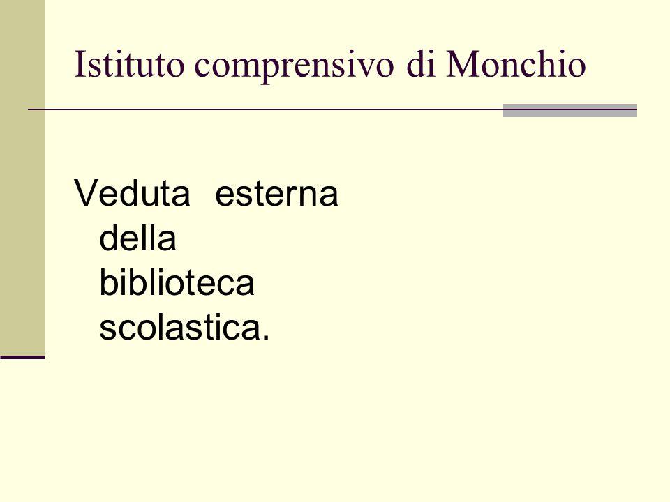 Istituto comprensivo di Monchio Veduta esterna della biblioteca scolastica.