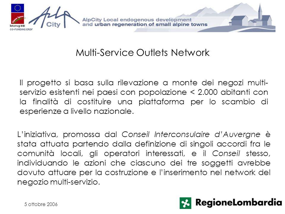 5 ottobre 2006 Liniziativa, promossa dal Conseil Interconsulaire dAuvergne è stata attuata partendo dalla definizione di singoli accordi fra le comuni
