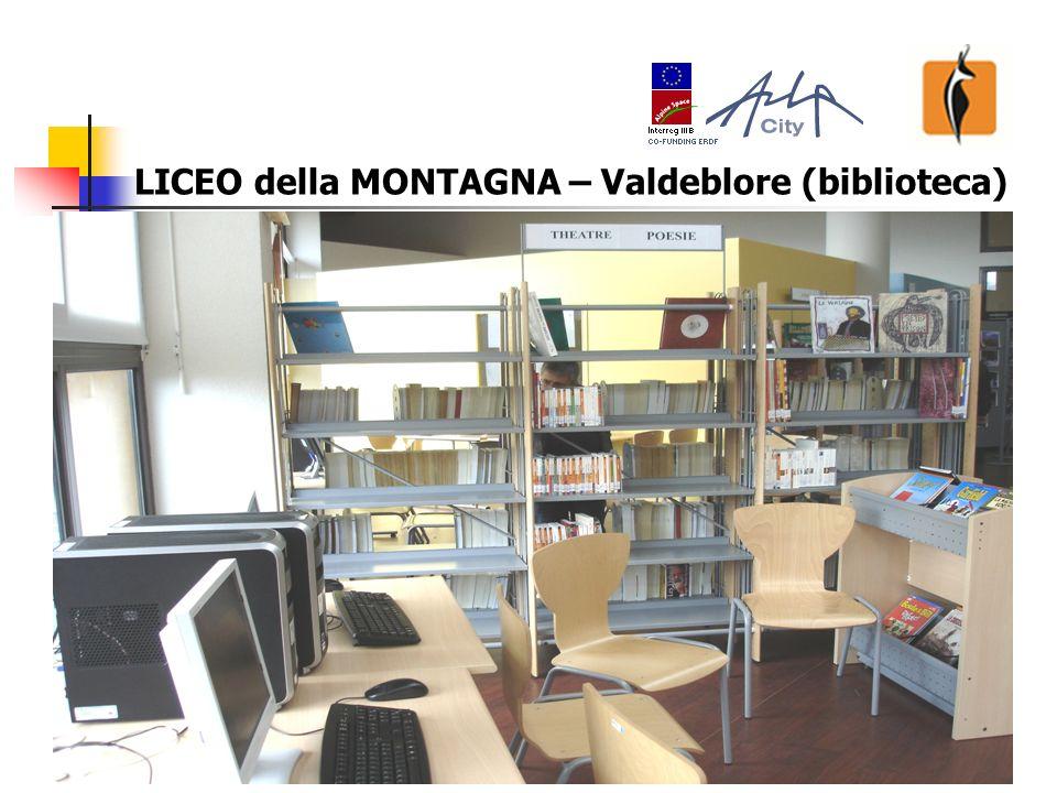 19 LICEO della MONTAGNA – Valdeblore (biblioteca)