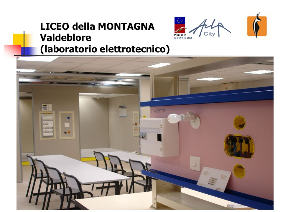 20 LICEO della MONTAGNA Valdeblore (laboratorio elettrotecnico)