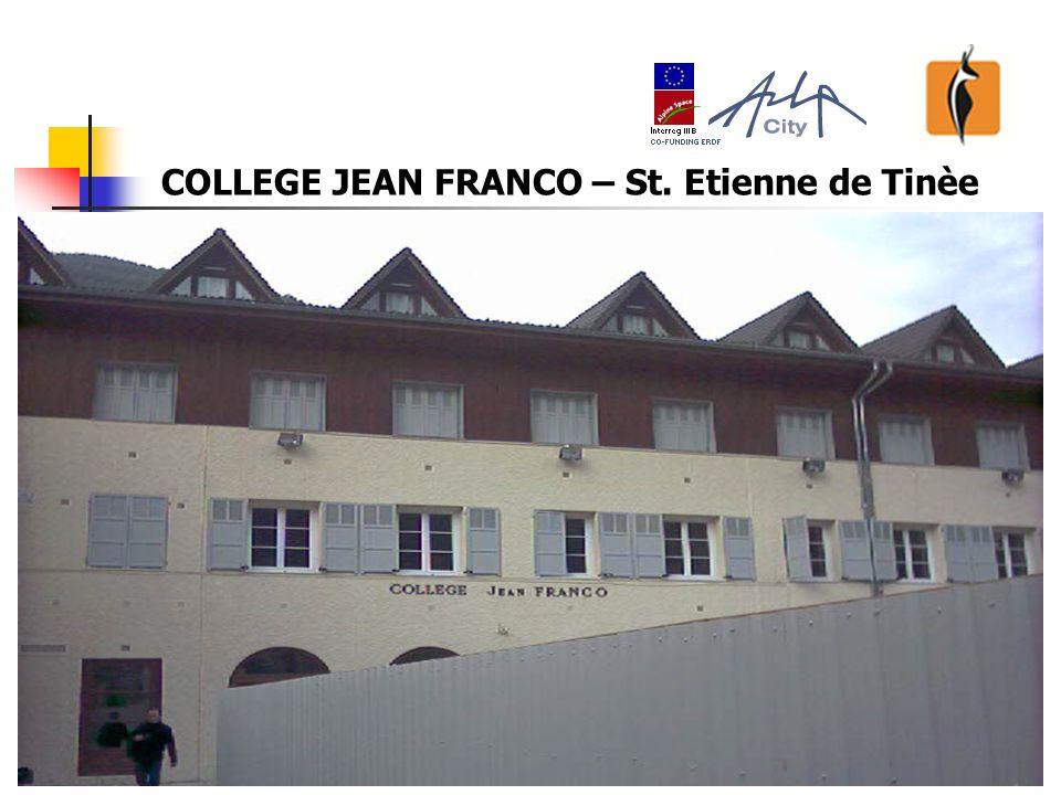 23 COLLEGE JEAN FRANCO – St. Etienne de Tinèe