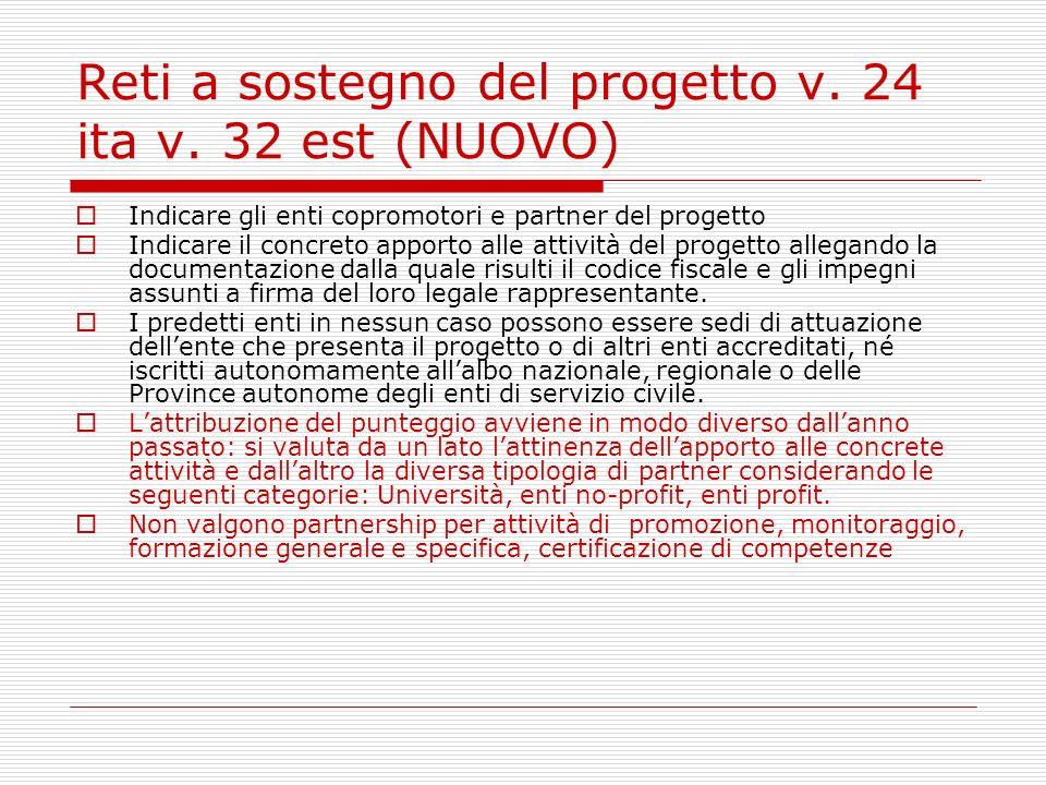 Reti a sostegno del progetto v. 24 ita v.