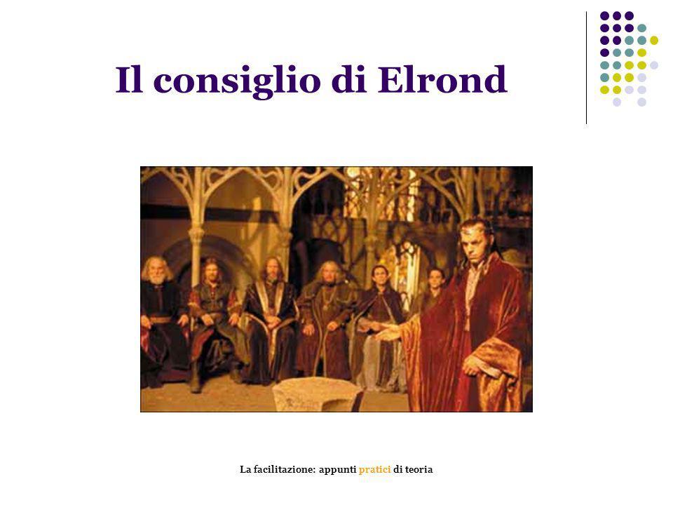 La facilitazione: appunti pratici di teoria Il consiglio di Elrond