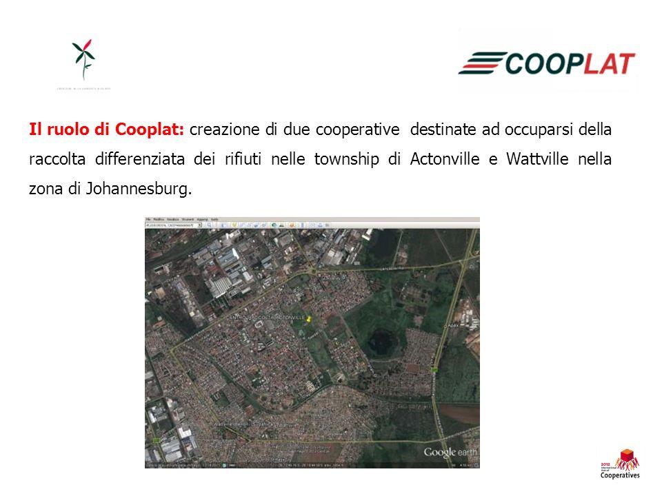 Luoghi in cui sarebbero sorti i centri di raccolta: Actonville.