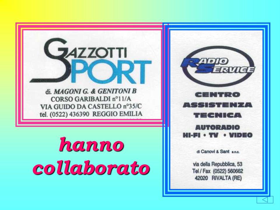 Istituto Comprensivo Don P. Borghi Via Pascal 81 - 42100 RIVALTA - R.E. SCUOLA ELEMENTARE DI RIVALTA Anno scolastico 1999 - 2000