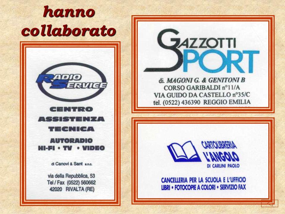 ISTITUTO COMPRENSIVO Don P. Borghi Via Pascal 81 - 42020 RIVALTA - RE anno scolastico 1999-2000
