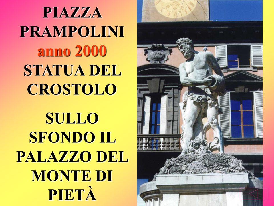 Nel 1802 Bernardino Lelli, divenuto proprietario della Villa Ducale, donò alla città il gruppo di sculture dedicato ai tre fiumi.