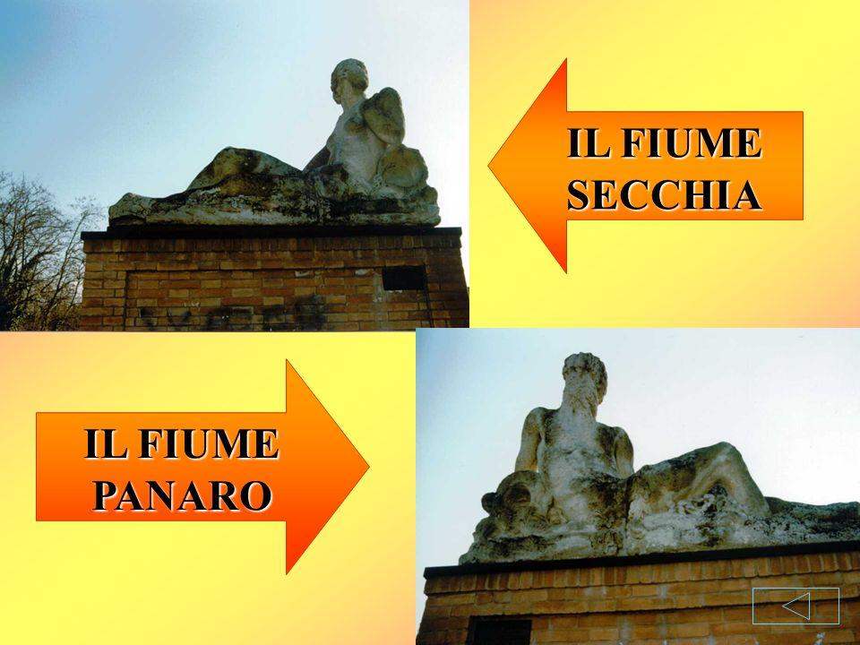 IL FIUME SECCHIA IL FIUME PANARO