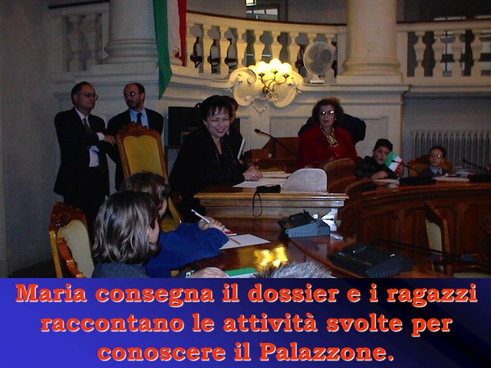 Antonella Spaggiari si dice contenta di sapere che noi abbiamo lavorato al progetto Adotta un Monumento.