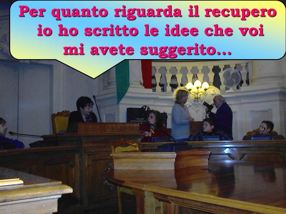 Credo vi interessi sapere che come Comune di Reggio Emilia stiamo lavorando per pensare e progettare il recupero di quel Palazzone e di quel luogo. No