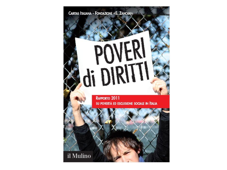 Stime ufficiali sulla povertà relativa - Metodo Ispl (Istat) Sono considerate povere le famiglie di due componenti che spendono mensilmente meno della spesa media mensile pro-capite (992,46 nel 2010)