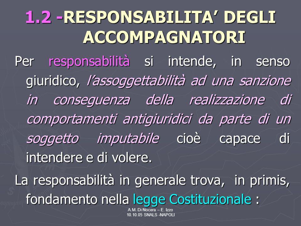 A.M.Di Nocera – E.