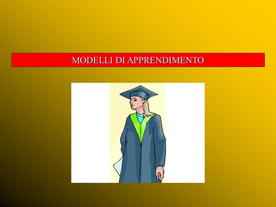 LAPPRENDIMENTO - Riflessione iniziale L obiettivo è di insegnare in modo tale da offrire il maggiore apprendimento col minimo di insegnamento.