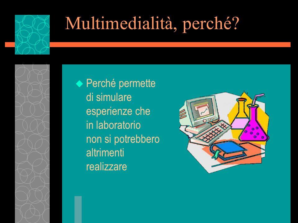 Multimedialità, perché.
