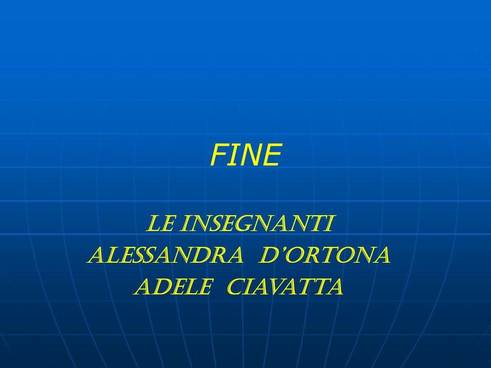 FINE Le insegnanti Alessandra DOrtona Adele Ciavatta