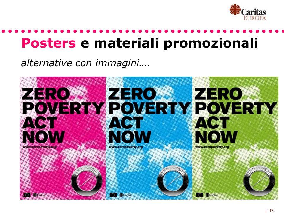 12 Posters e materiali promozionali alternative con immagini….