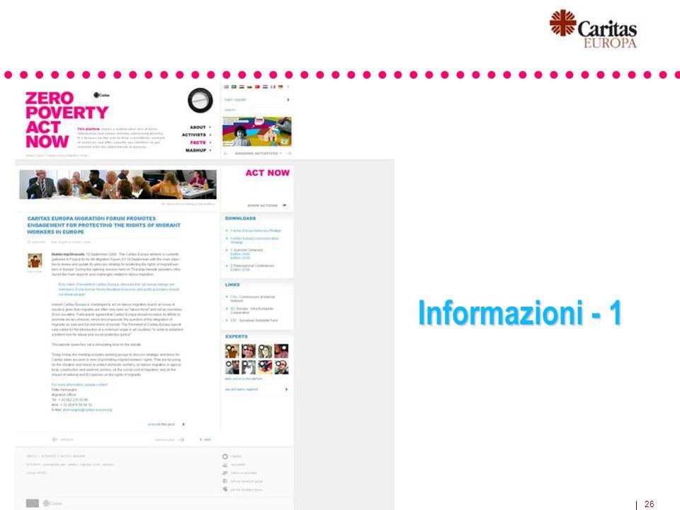 26 Informazioni - 1