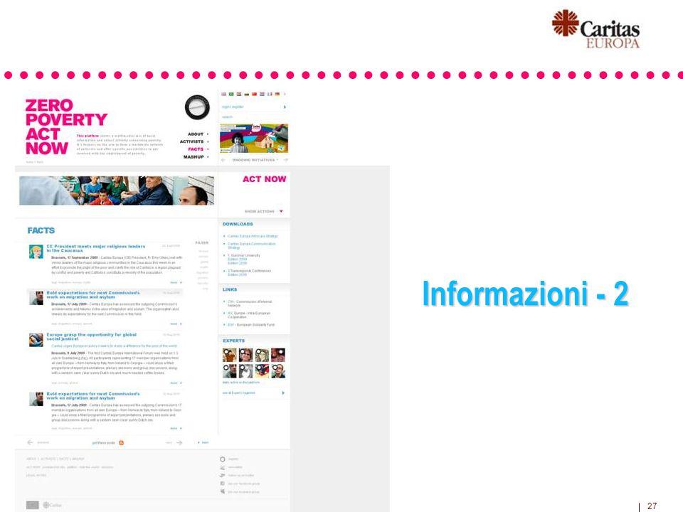 27 Informazioni - 2