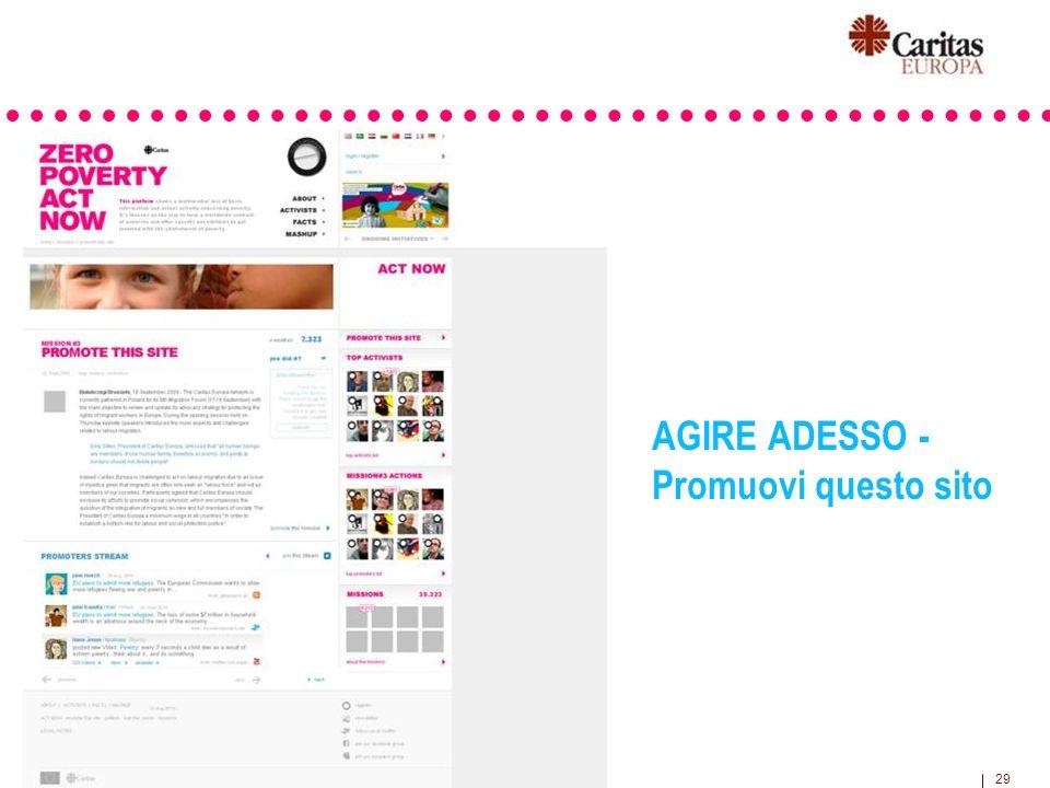 29 AGIRE ADESSO - Promuovi questo sito