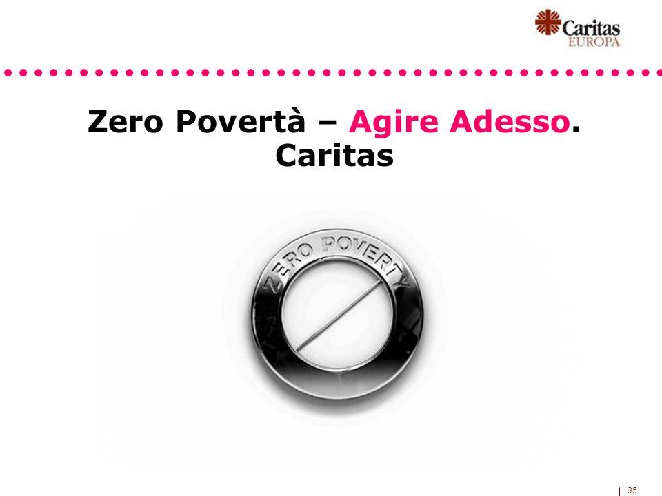 35 Zero Povertà – Agire Adesso. Caritas
