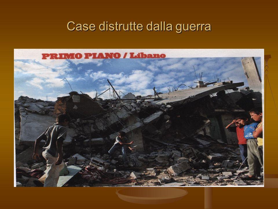 Case distrutte dalla guerra