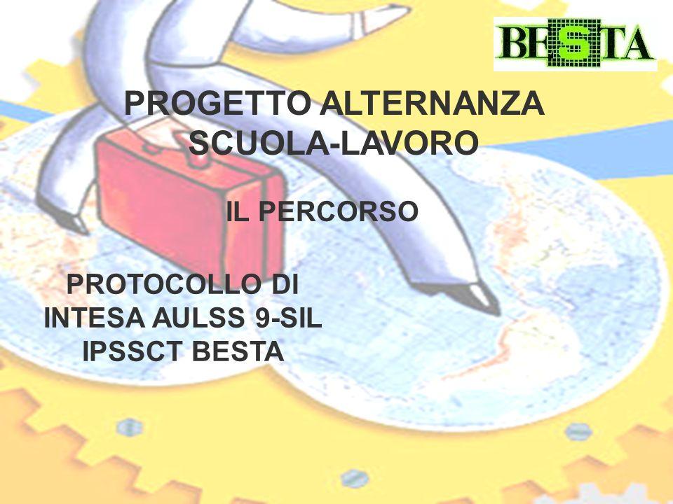 PROGETTO ALTERNANZA SCUOLA-LAVORO PROTOCOLLO DI INTESA AULSS 9-SIL IPSSCT BESTA IL PERCORSO